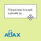 AJAX Ukládání objektů po přesunu na stránce